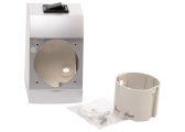 ​INTEGRO FLOW Box Assembly Set with Integrated On/Off Switch / chrome, matt