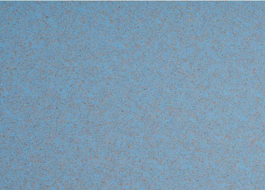 Hochwertiger Antirutsch-Belag, hergestellt aus einem Gummi- / Kork-Verbundwerkstoff.Farbe: hellblau. (Bild 2 von 4)