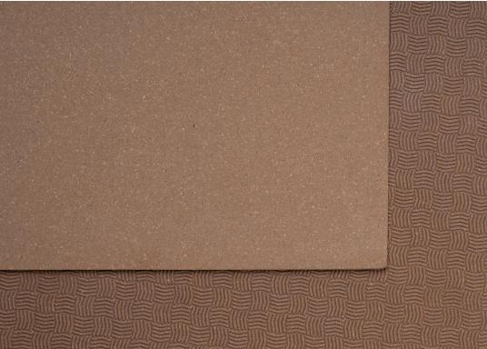 Hochwertiger Antirutsch-Belag, hergestellt aus einem Gummi- / Kork-Verbundwerkstoff.Farbe: braun. (Bild 3 von 4)