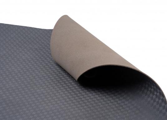 Hochwertiger Antirutsch-Belag, hergestellt aus einem Gummi- / Kork-Verbundwerkstoff.Farbe: grau. (Bild 4 von 4)