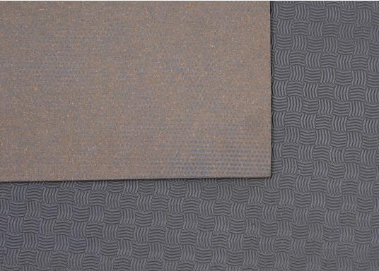Hochwertiger Antirutsch-Belag, hergestellt aus einem Gummi- / Kork-Verbundwerkstoff.Farbe: grau. (Bild 3 von 4)