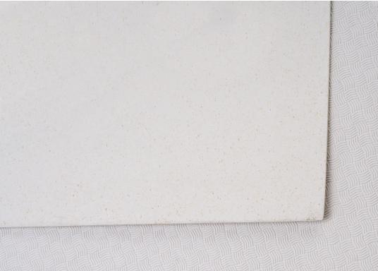 Hochwertiger Antirutsch-Belag, hergestellt aus einem Gummi- / Kork-Verbundwerkstoff.Farbe: weiß. (Bild 3 von 4)