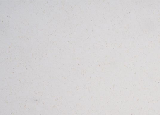 Hochwertiger Antirutsch-Belag, hergestellt aus einem Gummi- / Kork-Verbundwerkstoff.Farbe: weiß. (Bild 2 von 4)