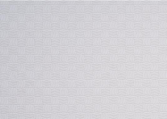Hochwertiger Antirutsch-Belag, hergestellt aus einem Gummi- / Kork-Verbundwerkstoff.Farbe: weiß.