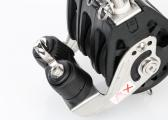 Triple Block with Swivel and Cleat / 12 mm / plain bearing