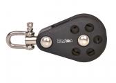 Single Blocks with Swivel / 12 mm / ball bearing
