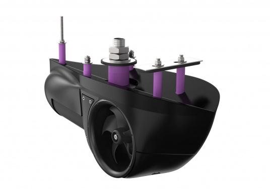 Cette gamme de propulseurs externes d'étrave et de poupe SX SIDE-POWER, pratiques et compacts, est la solution idéale lorsqu'il s'avère difficile d'implanter un tunnel, sur n'importe quelle carène, matériau de coque. Pour bateau de 8 à 11 m. (Image 2 de 5)