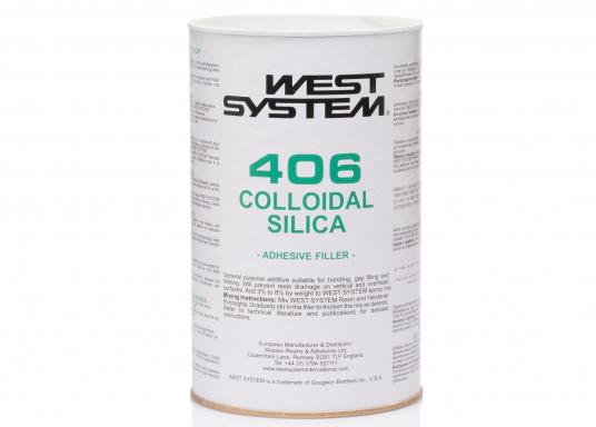 Füll- & Zusatzstoff Quarzmehl 406für eine individuelle Herstellung des jeweils benötigten Epoxyd-Gemisches. Hochdichter Quarzmehlfüller zum Kleben & Füllen, gegen Absacken.