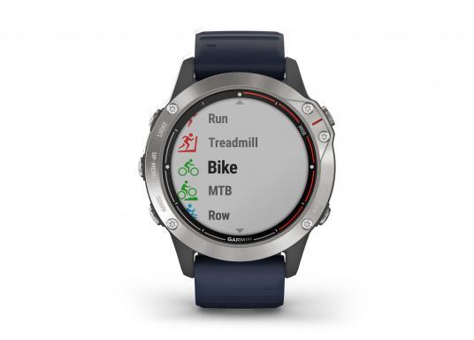 Die Garmin quatix 6 setzt neue Maßstäbe für GPS Marine Smartwatch Uhren. Die Unterstützung von BlueChart g3 Seekarten, sowie Datenstreaming von Ihrem kompatiblen Garmin Seekartenplotter, bishin zur Autopilotsteuerung sind nur einige der Features. Bewährte Funktionen der Garmin Fenix-6 Smartwatch wurden um spezielle Marine Anwendungen ergänzt. (Bild 5 von 9)