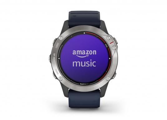 Die Garmin quatix 6 setzt neue Maßstäbe für GPS Marine Smartwatch Uhren. Die Unterstützung von BlueChart g3 Seekarten, sowie Datenstreaming von Ihrem kompatiblen Garmin Seekartenplotter, bishin zur Autopilotsteuerung sind nur einige der Features. Bewährte Funktionen der Garmin Fenix-6 Smartwatch wurden um spezielle Marine Anwendungen ergänzt. (Bild 7 von 9)