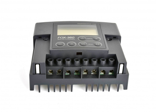 The FOX charge regulators complement your solar system with advanced technology and an attractive design. All FOX solar charge regulators can be connected to solar modules of any manufacturer.