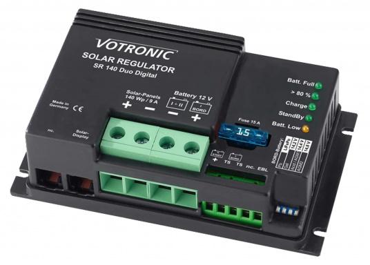 Les contrôleurs de charge VOTRONIC utilisent la technologie SR (Shunt Regulator). Ils peuvent alimenter un ou deux parcs de batteries avec une protection contre les surcharges. Prêt à brancher.