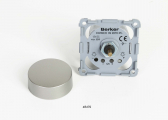 Dimmer INTEGRO FLOW / Edelstahl-Optik