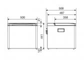 CombiCool RC 1200 EGP Cooler / 28-37 mbar