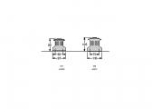 Standard Winch / W8 / alu / 1-speed