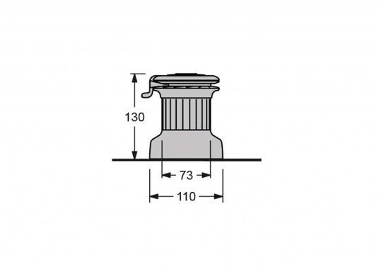 Les nouveaux winchs self-tailing XTd'antal sont dotés d'un tout nouveau design moderne associé à la qualité de fabrication propre à antal.  (Image 5 de 6)