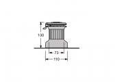 Winch self-tailing XT16 / alu / 1 vitesse