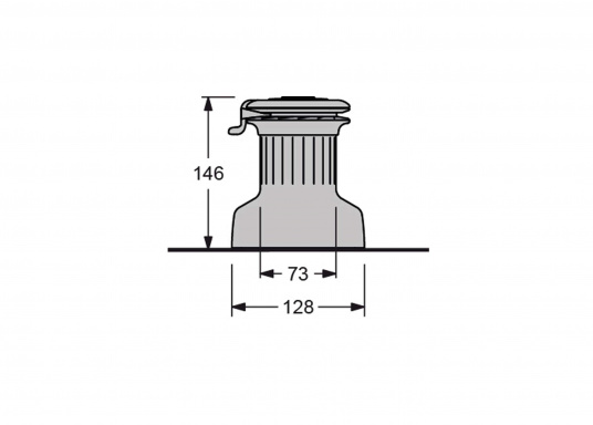 Die neuen selbstholenden Winden der Serie XT von antal überzeugen durch ein absolut neues und modernes Design unter Beibehaltung der für antal bekannten Materialgüte und Verarbeitungspräzision.Aluminium-Harteloxiert.  (Bild 5 von 6)