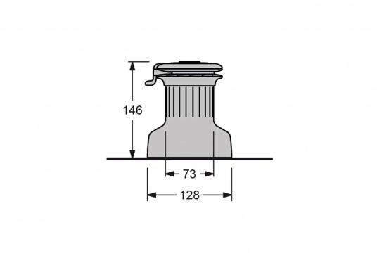 Die neuen selbstholenden Winden der Serie XT von antal überzeugen durch ein absolut neues und modernes Design unter Beibehaltung der für antal bekannten Materialgüte und Verarbeitungspräzision.Bronze-Verchromt.  (Bild 6 von 7)