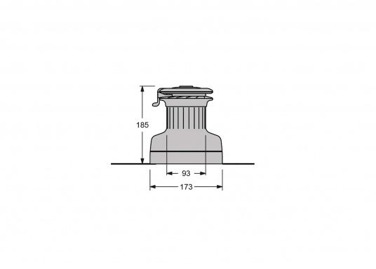 Die neuen selbstholenden Winden der Serie XT von antal überzeugen durch ein absolut neues und modernes Design, unter Beibehaltung der für antal bekannten Maerialgüte und Verarbeitungspräzision.  (Bild 2 von 3)
