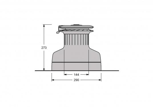 Die neuen selbstholenden Zweigang-Winden der Serie XT von antal überzeugen durch ein absolut neues und modernes Design, unter Beibehaltung der für antal bekannten Materialgüte und Verarbeitungspräzision.  (Bild 5 von 6)