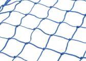 Bild von Relingsnetz / Sicherungsnetz geknotet / blau