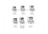 Winch self-tailing deux vitesses / W44ST / brc