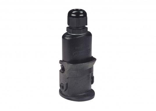 Speziell für den Einsatz auf Wasserfahrzeugen unter extremen Bedingungen geeignet! Diese Steckverbindungensind absolut wasserdicht durch doppelte O-Ring-Abdichtung und korrosionsfest.  (Bild 2 von 3)