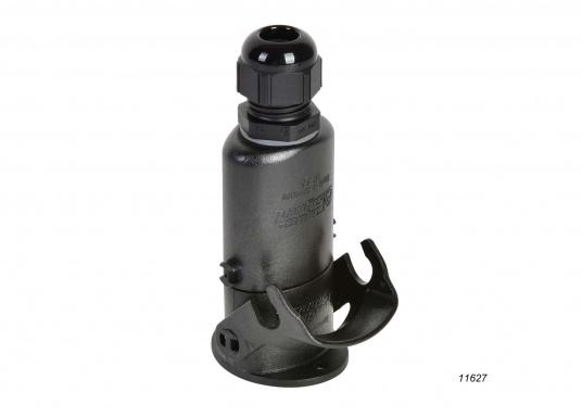 Speziell für den Einsatz auf Wasserfahrzeugen unter extremen Bedingungen geeignet! Diese Steckverbindungensind absolut wasserdicht durch doppelte O-Ring-Abdichtung und korrosionsfest.