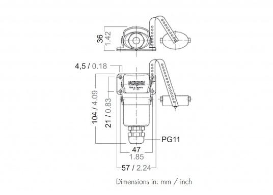 Speziell für den Einsatz auf Wasserfahrzeugen unter extremen Bedingungen geeignet! Diese Steckverbindungensind absolut wasserdicht durch doppelte O-Ring-Abdichtung und korrosionsfest.  (Bild 3 von 3)