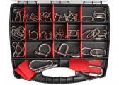 Carabiner and Shackle Assortment / 50 pieces / V4A