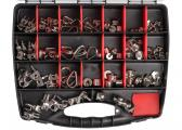 Wire Rope Accessories Assortment Case / 110 pieces / V4A