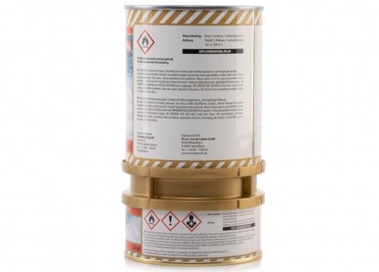 Besonders UV-beständigen, widerstandsfähiger und starkschichtiger 2-Komponenten-Klarlack von Epifanes. Geeignet für Anwendungen im Innen- und Außenbereich in Süß- und Salzwasserrevieren. Der UV-Filter sorgt für eine exzellente Glanzbeständigkeit. (Bild 2 von 6)