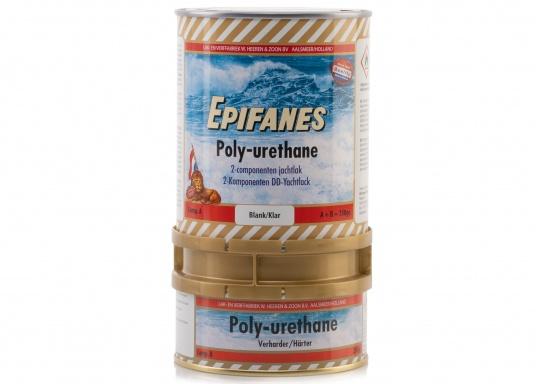 Besonders UV-beständigen, widerstandsfähiger und starkschichtiger 2-Komponenten-Klarlack von Epifanes. Geeignet für Anwendungen im Innen- und Außenbereich in Süß- und Salzwasserrevieren. Der UV-Filter sorgt für eine exzellente Glanzbeständigkeit.