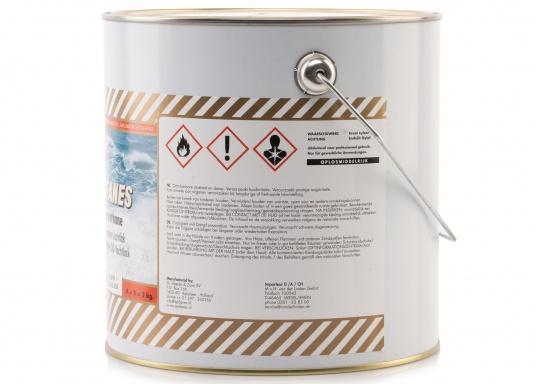 Besonders UV-beständigen, widerstandsfähiger und starkschichtiger 2-Komponenten-Klarlack von Epifanes. Geeignet für Anwendungen im Innen- und Außenbereich in Süß- und Salzwasserrevieren. Der UV-Filter sorgt für eine exzellente Glanzbeständigkeit. (Bild 4 von 6)