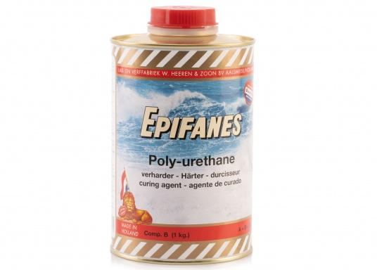 Besonders UV-beständigen, widerstandsfähiger und starkschichtiger 2-Komponenten-Klarlack von Epifanes. Geeignet für Anwendungen im Innen- und Außenbereich in Süß- und Salzwasserrevieren. Der UV-Filter sorgt für eine exzellente Glanzbeständigkeit. (Bild 6 von 6)