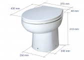 COMFORT PLUS On-Board Toilet / 12 V