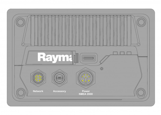 Das Raymarine AXIOM+ verfügt über das neue und deutlich hellere HydroTough™ Display, mehr internen Speicher und einen schnelleren Quad-Core-Prozessor. Dank des neuen LightHouse Dartmouth nutzen Sie die Vorteile von Tag und Nacht Modi, sowie die Unterstützung von Raymarine LightHouse Charts. (Bild 5 von 10)