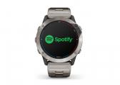 GPS-Smartwatch QUATIX 6X SOLAR mit Titan-Armband