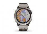 QUATIX 6X SOLAR GPS Smartwatch with Titanium Strap