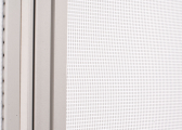FLYBLIND Blackout Blind with Fly Screen / 590 x 430 mm