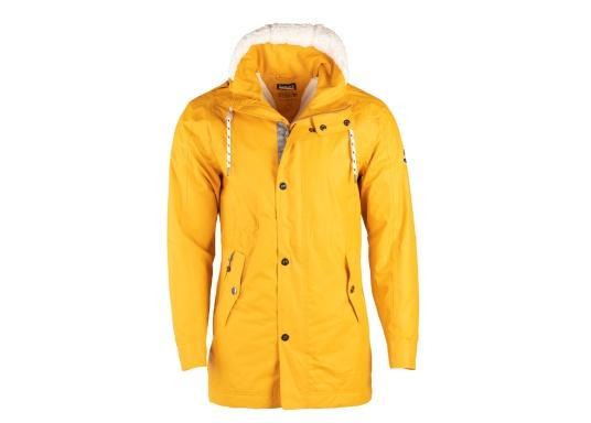 L'elegante giacca per tutte le stagioni di Marinepool ti protegge dal vento e dalle intemperie. Dotata di collo alto e pelliccia nella zona del petto e nel cappuccio, la giacca NILAS offre una protezione di prima classe nelle fredde giornate di pioggia. (Immagine 9 di 14)