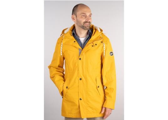 L'elegante giacca per tutte le stagioni di Marinepool ti protegge dal vento e dalle intemperie. Dotata di collo alto e pelliccia nella zona del petto e nel cappuccio, la giacca NILAS offre una protezione di prima classe nelle fredde giornate di pioggia.
