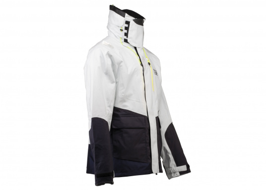 The AUCKLAND offshore jacket is the perfect companion for every sailing trip and has everything a jacket needs in terms of comfort, breathability and waterproofness. (Image 3 of 8)