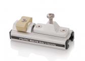 Schlitten mit Stopper für T-Schiene 25 x 4 mm