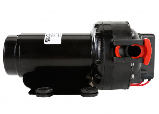 Powerful pressurised water pump with a long service life. Thanks to its silent operation and even water flow, this pump is the best solution for your pressurised water system on board. (Image 3 of 6)
