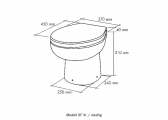 SMART-FLUSH Board Toilet