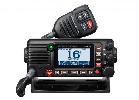 Das GX2400E von STANDARD HORIZON ist der direkte Nachfolger des beliebten GX2200E. Eine NMEA2000 sowie eine NMEA0183 Schnittstelle gehört für das GX2400E zum Standard. Der integrierte 66 Kanal GPS Empfänger sorgt für einen stabilen GPS Empfang. Des Weiteren ist das GX2400E mit einem integrierten AIS Empfänger ausgestattet. Die empfangenen AIS Daten können mittels NMEA2000 oder NMEA0183 zum Beispiel an Seekartenplotter ausgegeben werden.