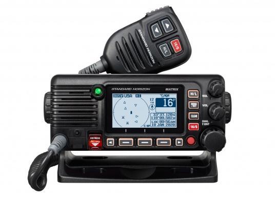 Das GX2400E von STANDARD HORIZON ist der direkte Nachfolger des beliebten GX2200E. Eine NMEA2000 sowie eine NMEA0183 Schnittstelle gehört für das GX2400E zum Standard. Der integrierte 66 Kanal GPS Empfänger sorgt für einen stabilen GPS Empfang. Des Weiteren ist das GX2400E mit einem integrierten AIS Empfänger ausgestattet. Die empfangenen AIS Daten können mittels NMEA2000 oder NMEA0183 zum Beispiel an Seekartenplotter ausgegeben werden. (Bild 2 von 7)