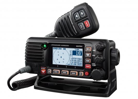 Das GX2400E von STANDARD HORIZON ist der direkte Nachfolger des beliebten GX2200E. Eine NMEA2000 sowie eine NMEA0183 Schnittstelle gehört für das GX2400E zum Standard. Der integrierte 66 Kanal GPS Empfänger sorgt für einen stabilen GPS Empfang. Des Weiteren ist das GX2400E mit einem integrierten AIS Empfänger ausgestattet. Die empfangenen AIS Daten können mittels NMEA2000 oder NMEA0183 zum Beispiel an Seekartenplotter ausgegeben werden. (Bild 3 von 7)